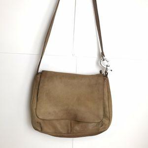 Stone Mountain Leather Cross Body Messenger Bag